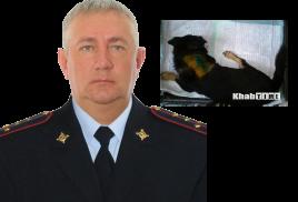 Настоящий мужчина: капитан полиции Хабаровска спас раненную живодером собаку!